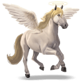 unicornio Ángel demoniaco